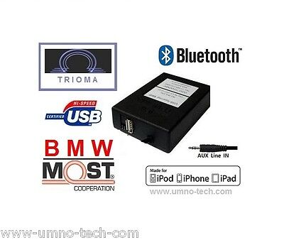 BMW E65,E66 USB MP3 AUX Bluetooth Interface TRIOMA MOST Skif