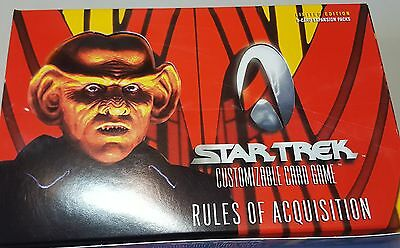 Star Trek CCG Rules of Asquisition