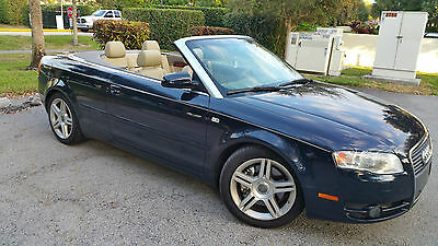 2008 Audi A4 Cabriolet Convertible 2-Door CABRIOLET *** EXTREMELY CLEAN*** 64K mls *** CLEAN CARFAX