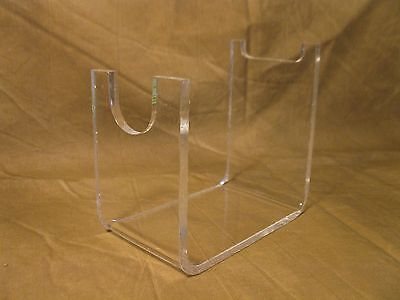 Acrylic Collectible Sci Fi Blade Blaster & Mauser style Pistol Display Stand