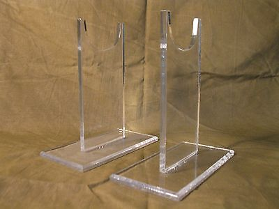 """Premium Acrylic 5"""" Tall Antique & Military Firearms Rifle Carbine Display Stand"""