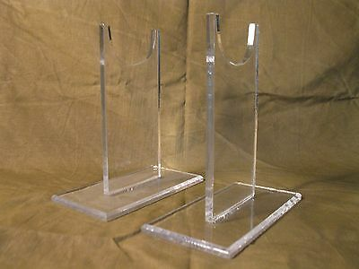 """Premium Acrylic 5"""" Tall Collectible & Military Firearms Rifle  Display Stand"""