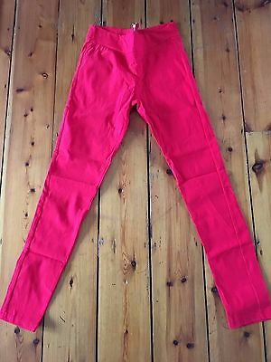 Red Stretchy Trousers 10-12 BNWT