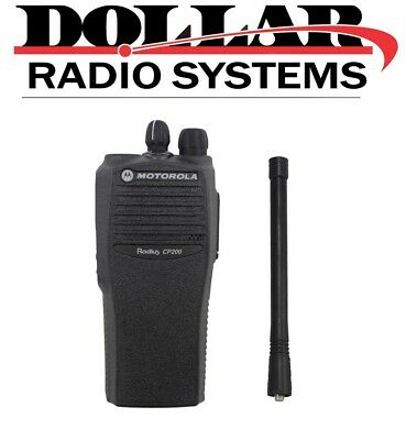 New Motorola CP200 VHF 146-174Mh 4 Channel 5W Two Way Radio Only AAH50KDC9AA1AN