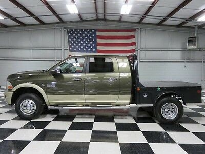 2011 Dodge Ram 3500  1Owner Mega Cab Flatbed 6.7 Cummins Auto Warranty Financing New Tires Nav Tv Dvd