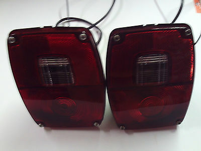 OE Replacement Tail Lights for 1967-80 Ford Truck Models W-WT Linehaulers F100