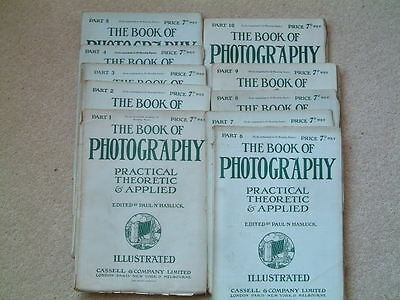 The Book of Photography from 1904.  Ten editions 1 to 10.