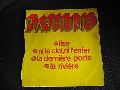 Rare Disque Vinyle Bashung 45T Annee 60/70