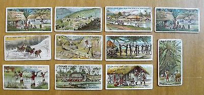 JOHN PLAYER Cigarette Cards - 11 odds of British Empire Series 1904