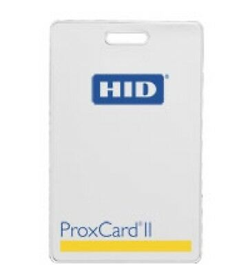 NEW HID ProxCard II Clamshell Card 1326LMSMV-26bit 50ea. Access Control Prox