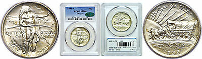 1936-S Oregon Trail Silver Commemorative PCGS MS-66 CAC