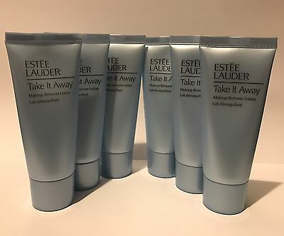 ESTEE LAUDER Take It Away Make Up Remover Lotion 6 x 30ml Travel Size