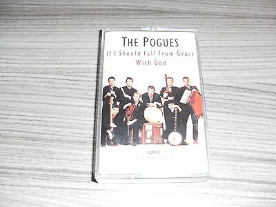 The Pogues. If I Should Fall From Grace With God. Stereo Cassette Tape Album.