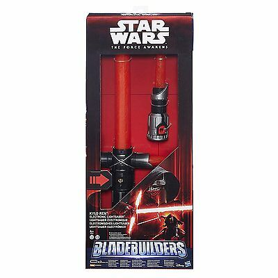 Star Wars The Force Awakens Kylo Ren Deluxe Electronic Lightsabre UK SELLER FREE