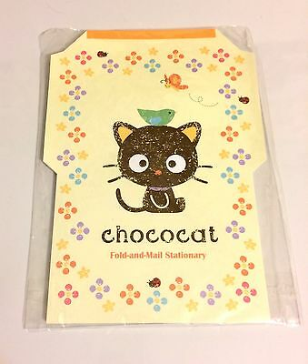 Sanrio, Chococat Fold & Mail Stationary Set, 35 Sheets, 5 Designs, 2005 Retired