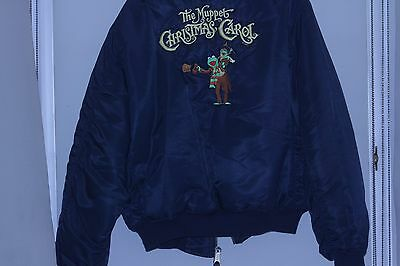 Muppet Christmas Carol Film Crew Jacket.  Great condition. Henson. Collectable.