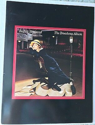 Barbra Streisand The Broadway Album Rare Columbia Promotional Items Collection