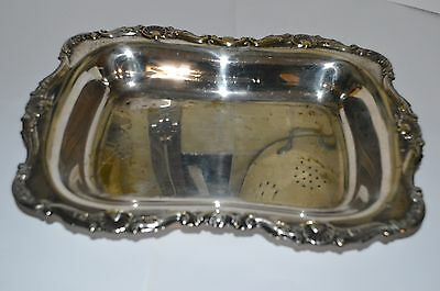 Vintage Yeoman Silver Plate Serving Dish Made In England