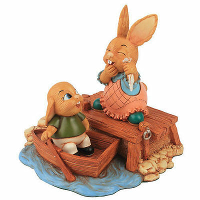 Pendelfin Rabbit Collectors Limited Edition Figurine - The Jetty # 160