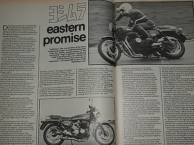 Rare YOSHIMURA HONDA CB750 PERFORMANCE ROAD/RACE TUNING GUIDE RCB HRC CAFE RACER