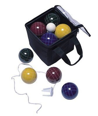 Park & Sun Sports Bocce Ball Set Deluxe Carrying Bag: 109 mm Poly-Resin Balls