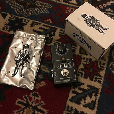 Spaceman Effects Atlas III Preamp Boost Pedal Limited Edition Guitar Pedal