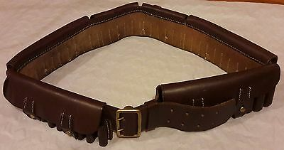 Quality replica Victorian P1882 Martini Henry leather Boer War Bandolier - used