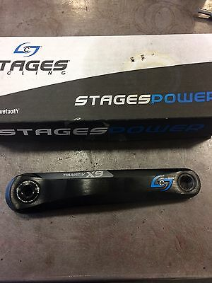 Stages Power Meter SRAM X9 Gxp 175mm