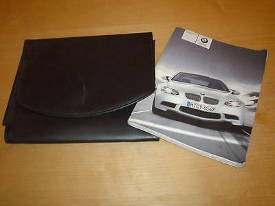 BMW 3 SERIES M3 E92 COUPE iDrive Navigation Manual Owners Handbook Wallet Book