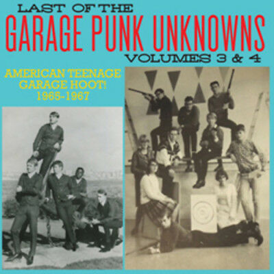 Various Artist - Last Of The Garage Punk Unknowns 3 & 4 [CD New]