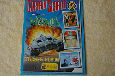 Captain Scarlet and the Mysterons Sticker Album
