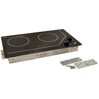Force10 Boat Electric Cooktop Stove 75220 | 120V Ceramic 21 x 12 Inch