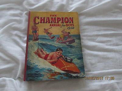 THE  CHAMPION ANNUAL  for BOYS   1950  VERY GOOD  CONDITION FOR  AGE
