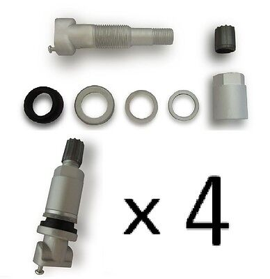 4 x Valves TPMS Repair Kit-01 RENAULT