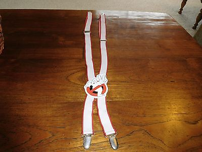 Vintage Ghost Busters Suspenders, 1988 Columbia Pictures Ind.,Inc.