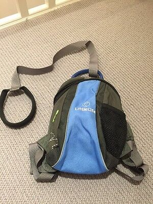 Little Life Rucksack With Parent Strap New