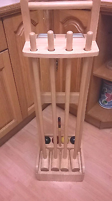 Bhs Quality Croquet Set 4 Player Rrp £70