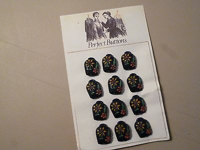Set of Vintage Plastic Buttons