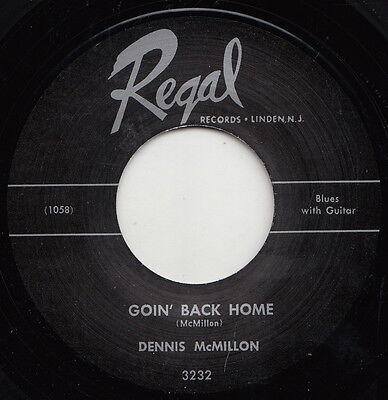 ** Dennis Mcmillon  Goin Back Home  Total Country Blues Masterpiece!!