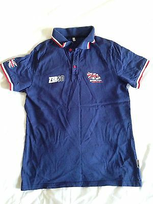Great Britain Triathlon Polo shirt Top Brownlee Olympic Small TeamGB RIO 2016