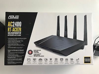 ASUS RT-AC87R Wireless-AC2400 Dual-band Gigabit Router