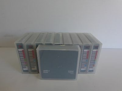 Lot of 10 IBM Tape Data Cartridge 1600Gb LTO-4 Ultrium 10-pack 95P4436 BARCODED