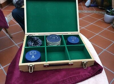 Custom Made Carry/display Case For Hardy Fishing Reels
