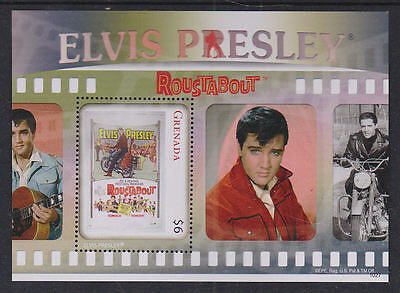 Grenada 2010-12 Mint MNH 4 Minisheets Elvis Presley The King of Rock &Roll Films