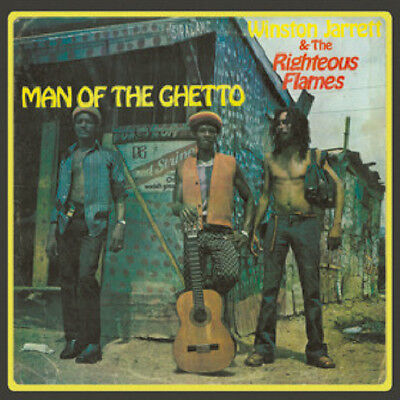 ** Winston Jarrett & The Righteous Flames  Man Of The Ghetto  Lp  Roots Classic!