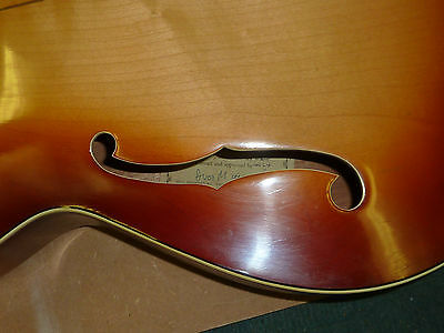 Beautiful. Vintage Boosey & Hawkes imported Zenith Arched top guitar