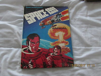Gerry Anderson's  Space  1999   Annual     1968 ?   Good Condition For  Age