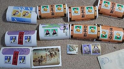 21 Mint Japanese Postage Stamps circa 1980s