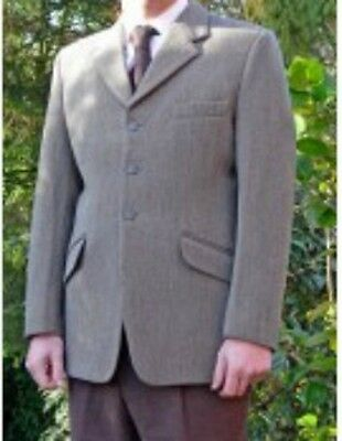 MEARS Wessex Sz 40 KEEPERS TWEED jacket - coat. EXCELLENT CONDITION Show - hunt