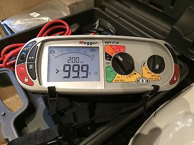 Megger Mft1710  Multifunctional Electrical Tester. Calibrated  For 12 Months